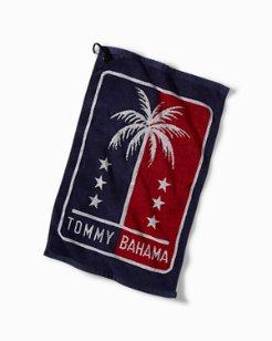 Palms & Stars Jacquard Towel
