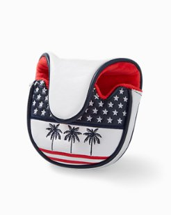 Palms & Stripes Mallet Cover