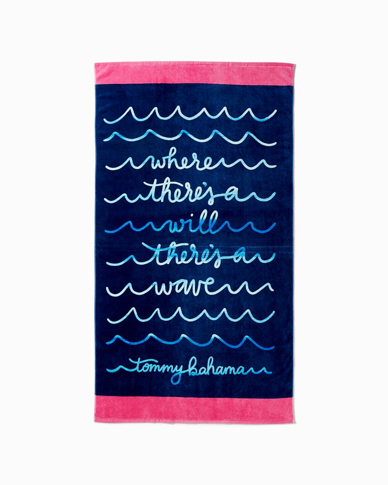 Main Image for Wave Writer Reversible Towel