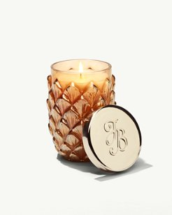 Island Blend Luster Glass Poured Candle