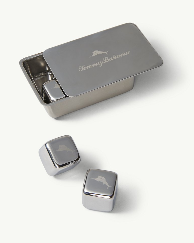 Main Image for Stainless Steel Whiskey Cubes - Set of 6