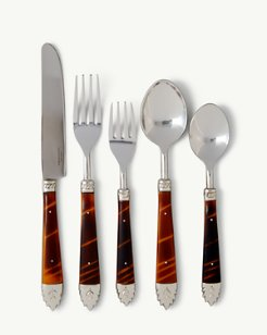 Tigereye Flatware 5-Piece Place Setting
