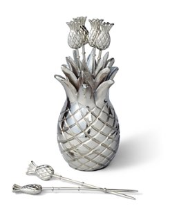 Pineapple Stainless Steel Pick Set