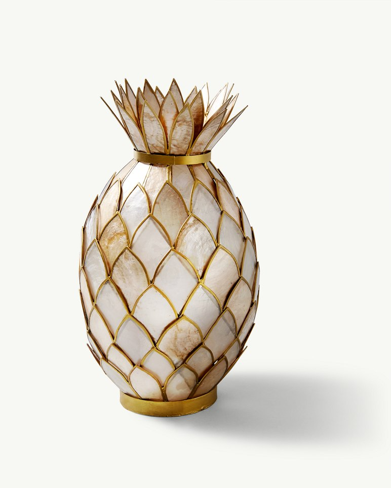 Capiz Pineapple Votive