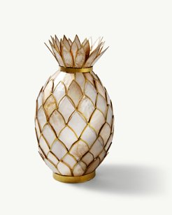 Capiz Pineapple Votive Holder