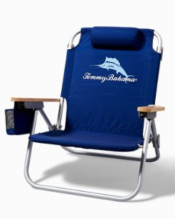 Blue Marlin Deluxe Backpack Beach Chair