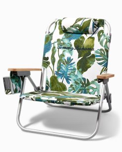 Villa Fronds Deluxe Backpack Beach Chair