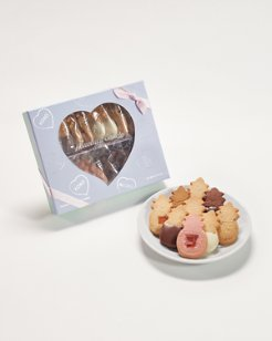 Honolulu Cookie Company® Heart Window Box
