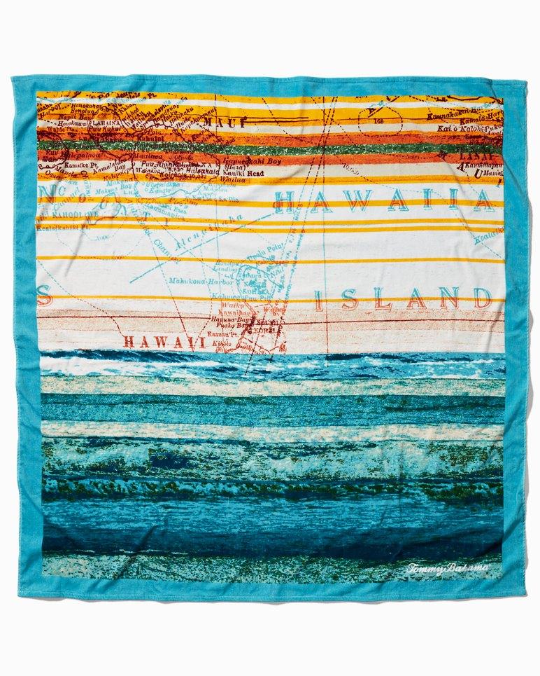 Main Image for Map Print Beach Blanket