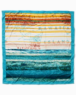Map Print Beach Blanket