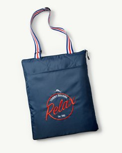 Relax Outdoor Blanket Tote
