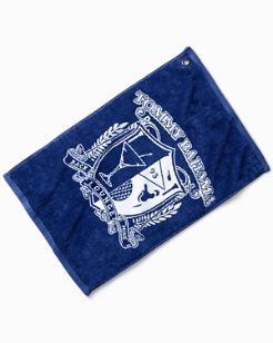 The 19th Hole Jacquard Golf Towel