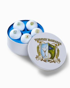 Golf Ball Tin Set