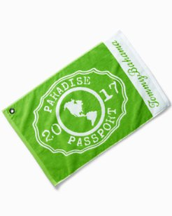 Paradise Passport Golf Towel