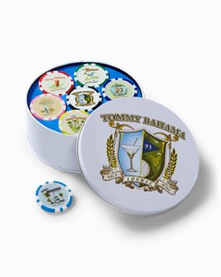 Poker Chip Ball Marker Set