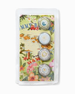 Paradise Passport Ball Marker Set
