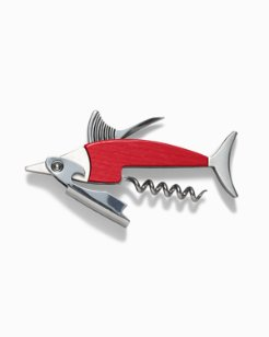 Wood Marlin Bottle Opener