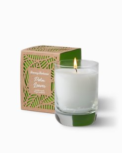 Palm Leaves Candle