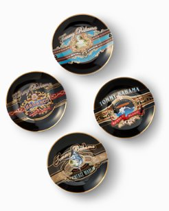 Cigar Band Plates - Set of 4