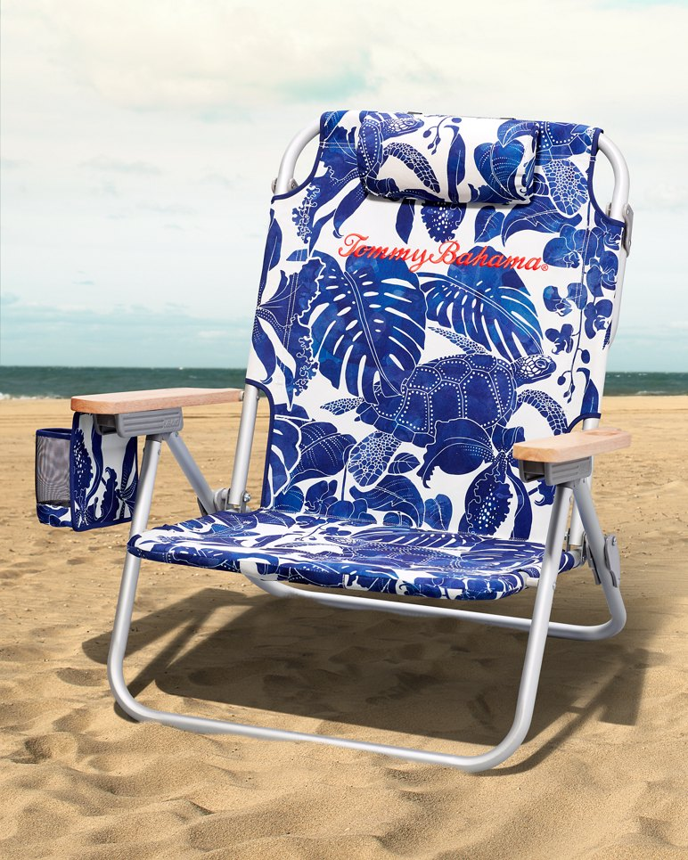 Turtle Palm Deluxe Backpack Beach Chair
