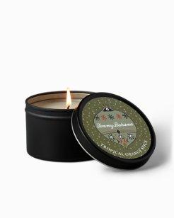 Orange Spice Ornament Candle Tin