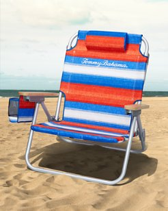Serape Stripe Deluxe Backpack Beach Chair
