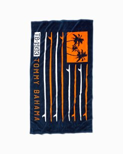 Surf Flag Beach Towel