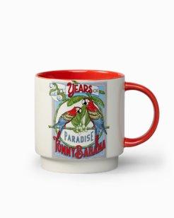 25th Anniversary Parrot Mug