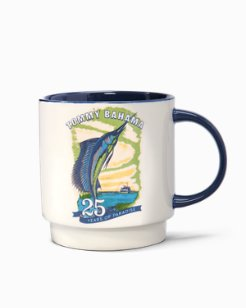 25th Anniversary Marlin Stackable Mug