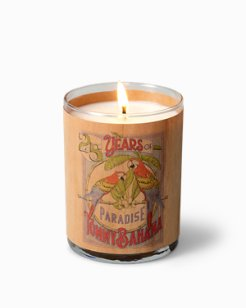 25th Anniversary Parrot Wood Candle