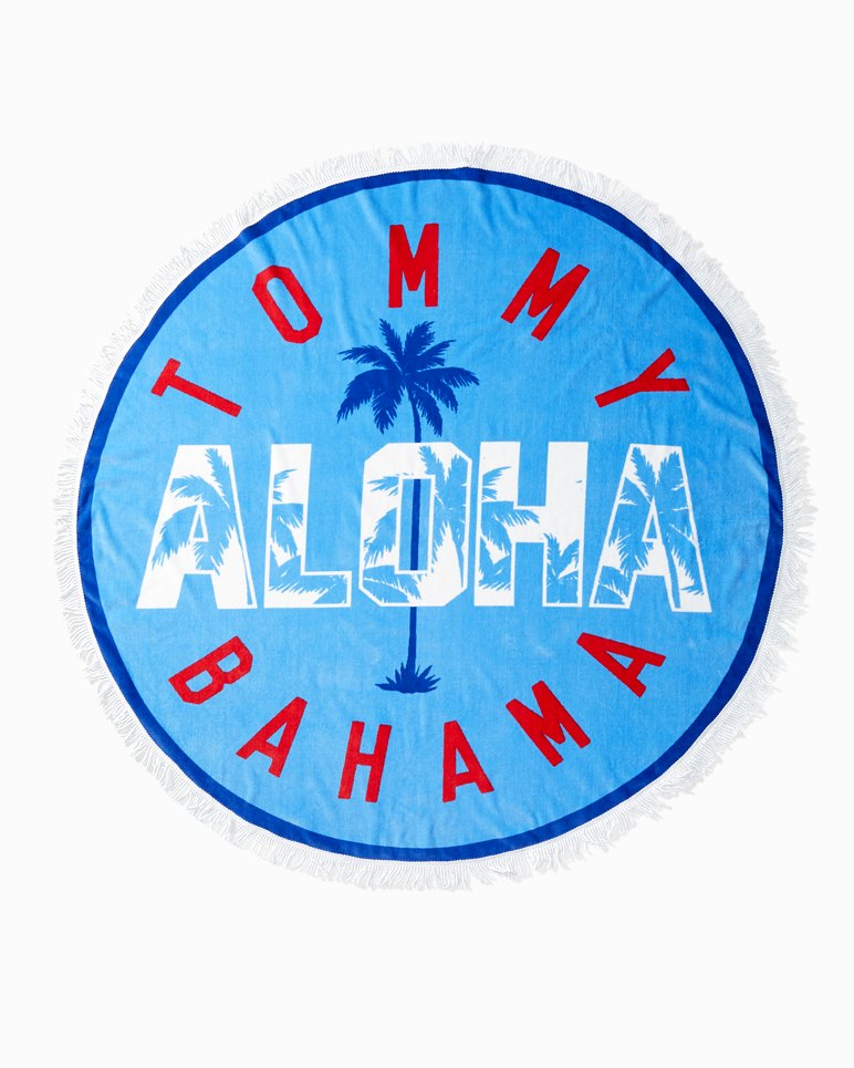 Main Image for Palm Round Beach Towel