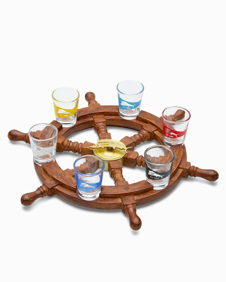 Main Image for Spin The Marlin Shot Glass Wheel