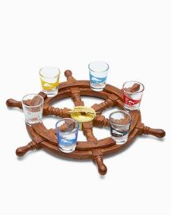 Spin The Marlin Shot Glass Wheel