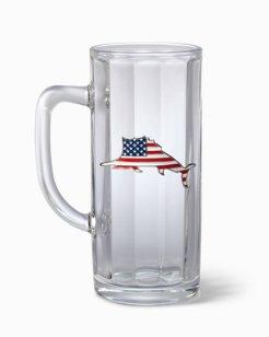 Flag Marlin Beer Stein