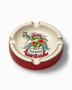 25th Anniversary Parrot Ceramic Ashtray
