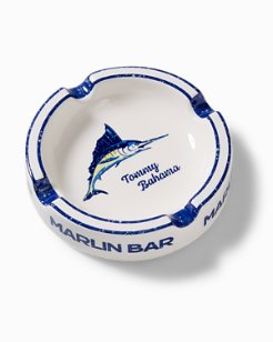 Marlin Bar Round Ashtray
