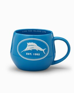 Embossed Marlin Collector Mug, Gift-Wrapped