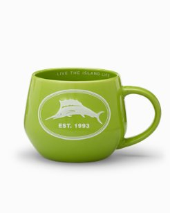 Embossed Marlin Collector Mug