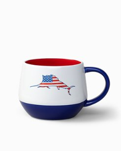 Flag Marlin Ceramic Mug