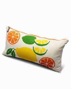 Citrus Squeeze Lumbar Pillow