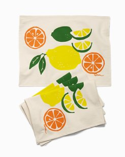 Citrus Squeeze Placemats - Sets of 4