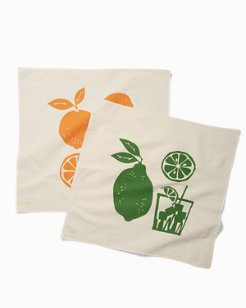 Citrus Squeeze Tea Towels - Set of 2