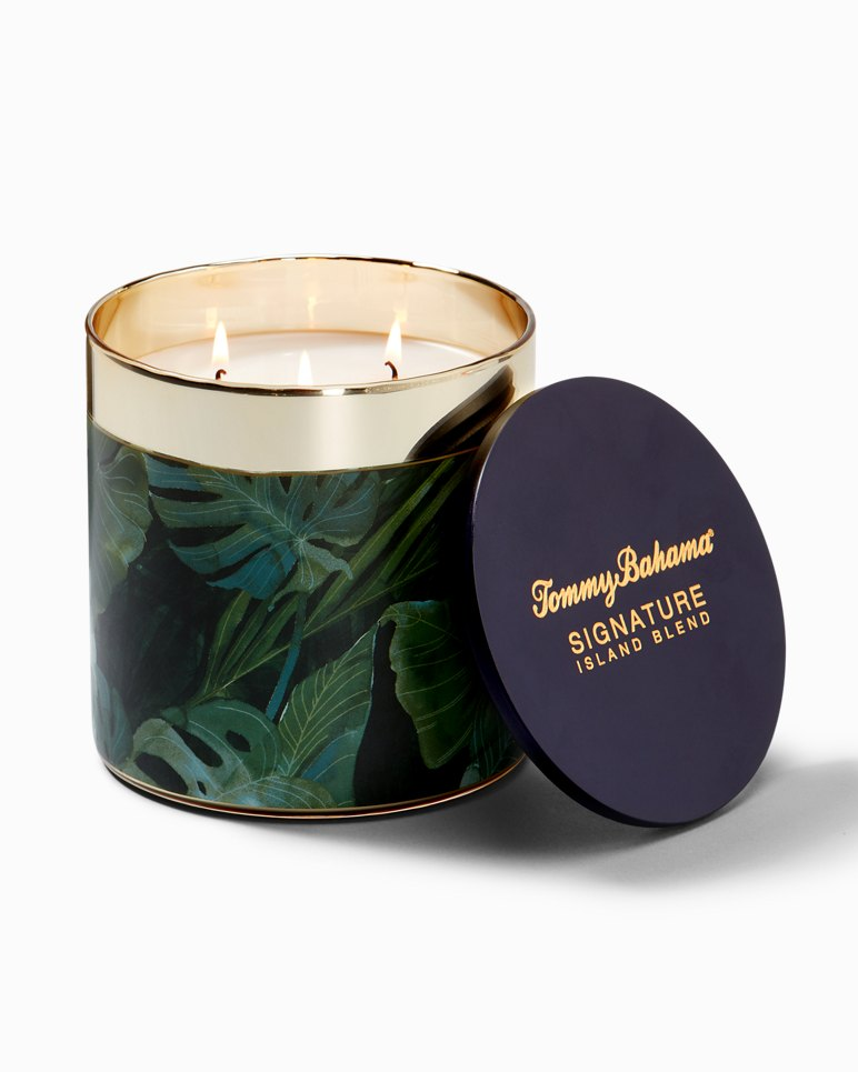 Main Image for Island Blend Villa Fronds Round Candle