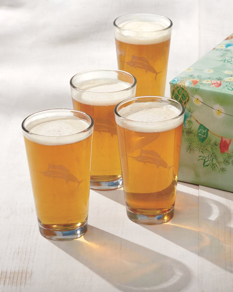 Main Image for Marlin Beer Glasses - Set of 4 Gift-Wrapped
