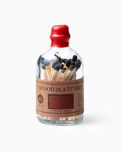 Bottled Wood Matches
