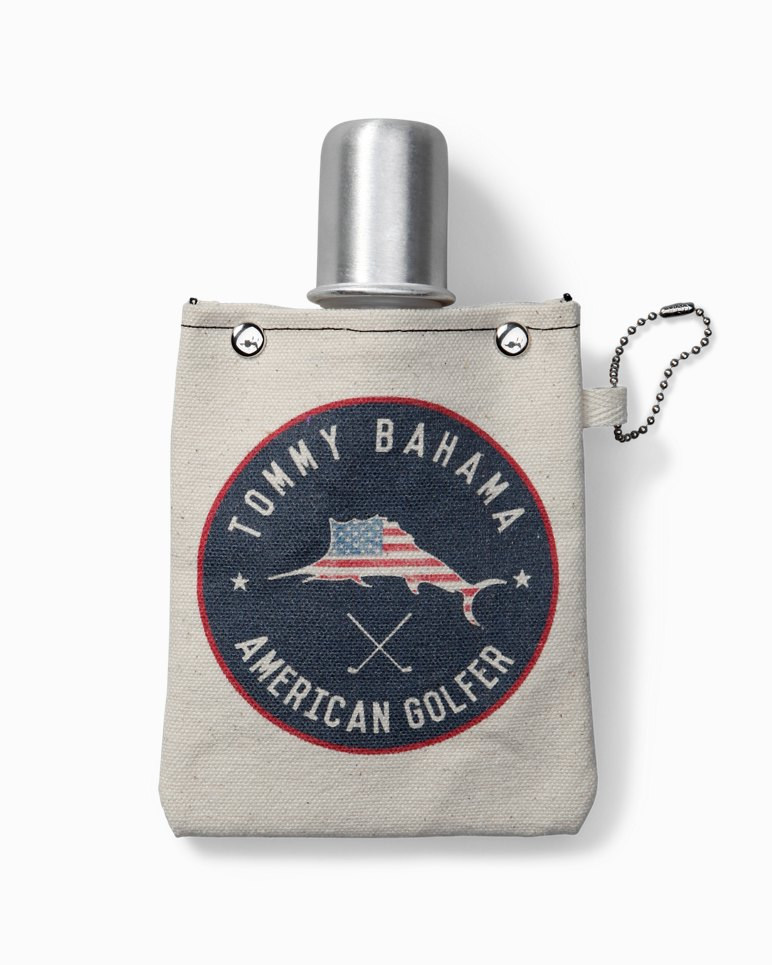 Main Image for American Golfer Canvas Flask