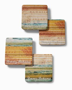 Treasure Cove Coasters - Set of 4