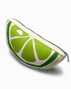 Half-Round Lime Pillow