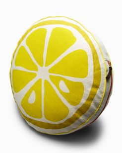 Round Lemon Pillow