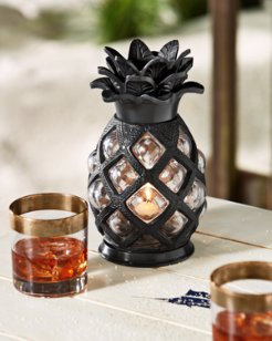 Large Glass Pineapple Votive Holder